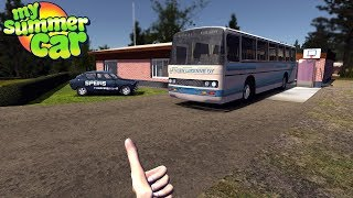 My Summer Car - MY NEW BUS