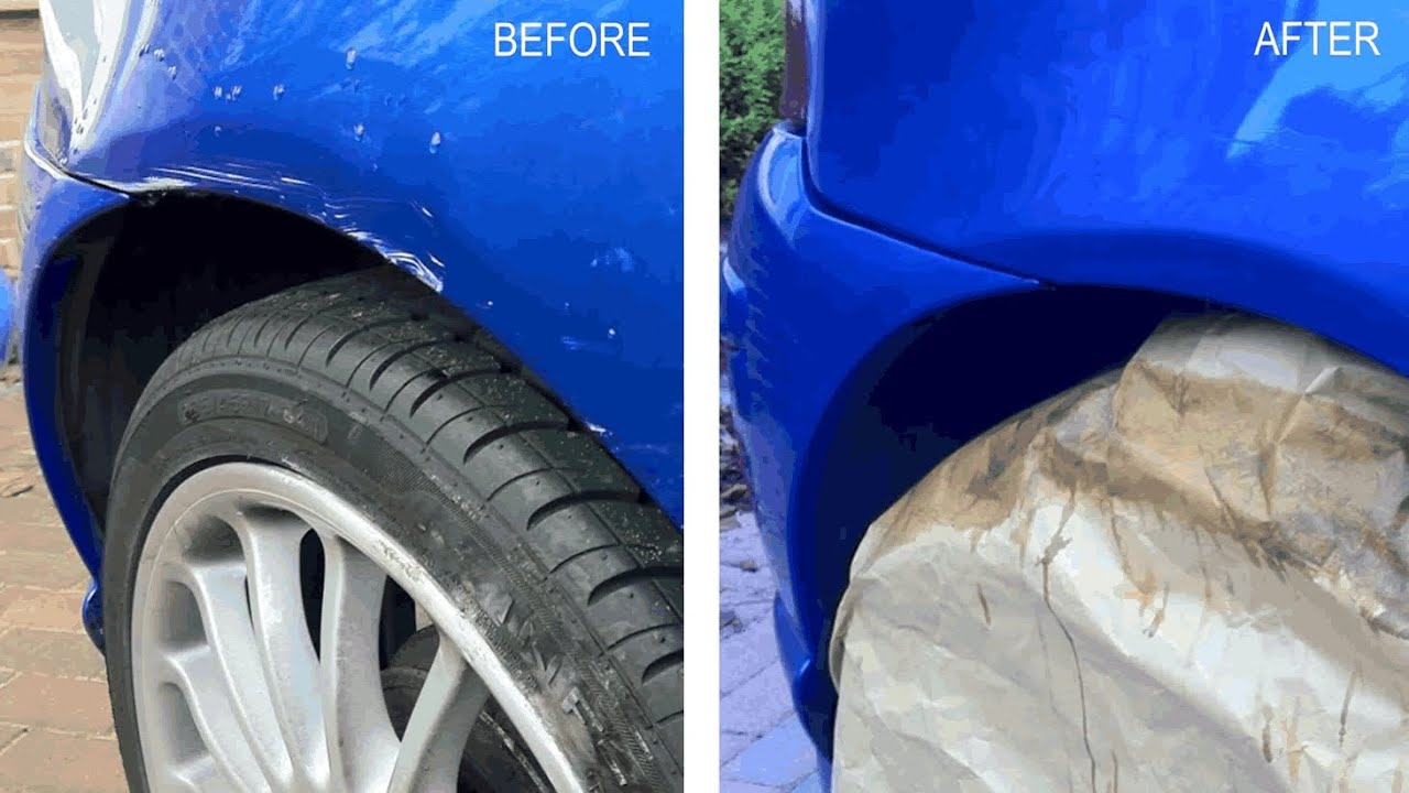 Big Car Scratch Repair