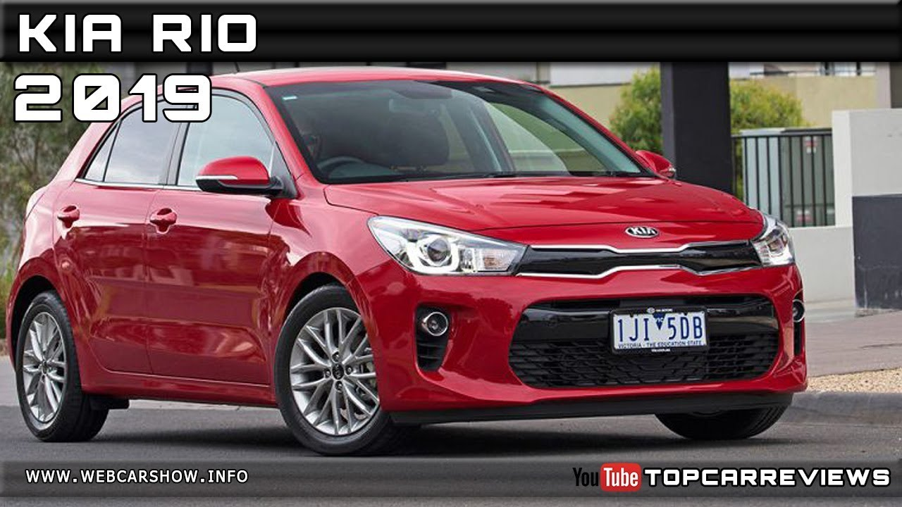 2019 KIA RIO Review Rendered Price Specs Release Date ...
