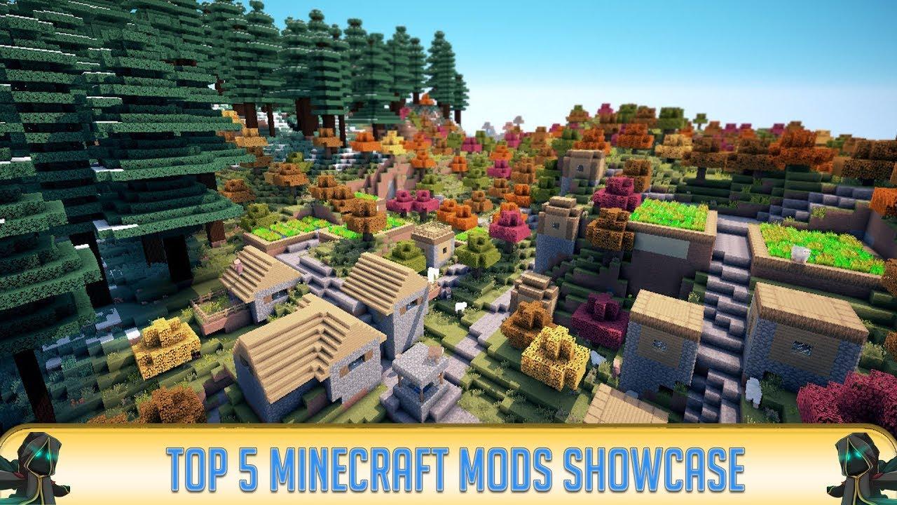 Minecraft Top 5 Mods Minecraft 1 13 2 Youtube