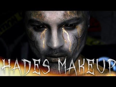 Hades Halloween Makeup Tutorial | Sonjdra Deluxe / Jordan Hanz | 31 Days of Halloween