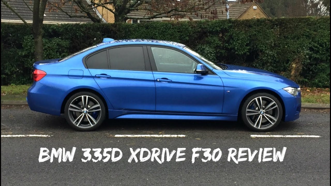 Bmw 335d Xdrive F30 2016 Saloon Review Youtube
