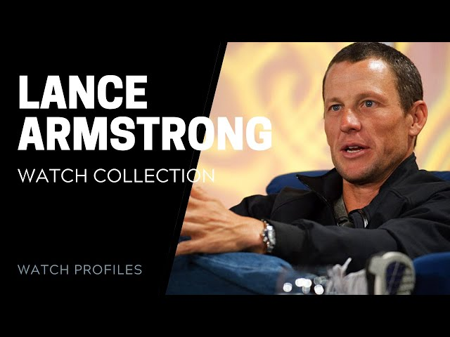 Lance Armstrong Rolex and Panerai Collection | SwissWatchExpo [Watch Collection]