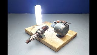 New 100% Free Energy Generator with Magnets Output 12 Volts Light Bulb New Idea 2019