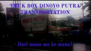 Tak biasanya 2 Truk dengan Sasis berbeda melintas dari Jakarta by DINOYO PUTRA TRANSPORTATION