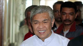 Zahid: Umno has not discussed DPM's post