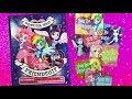 My little pony Equestria Girls Activity book MLP 'Friendship' stickers