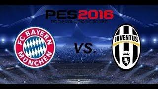 PES 2016 DEMO - Bayern München v. Juventus - PC Gameplay (720p)