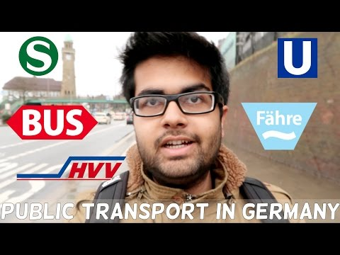 Using Public Transport In Germany (Hamburg)