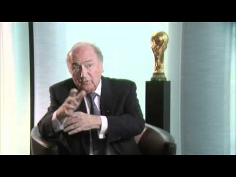 Sepp Blatter interview in full