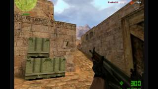 jugando al counter strike condition zero ep 1 con los terroristas!