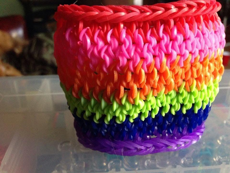 Crazy Loom Flower Bracelet