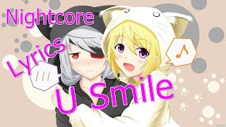 Nightcore - U Smile