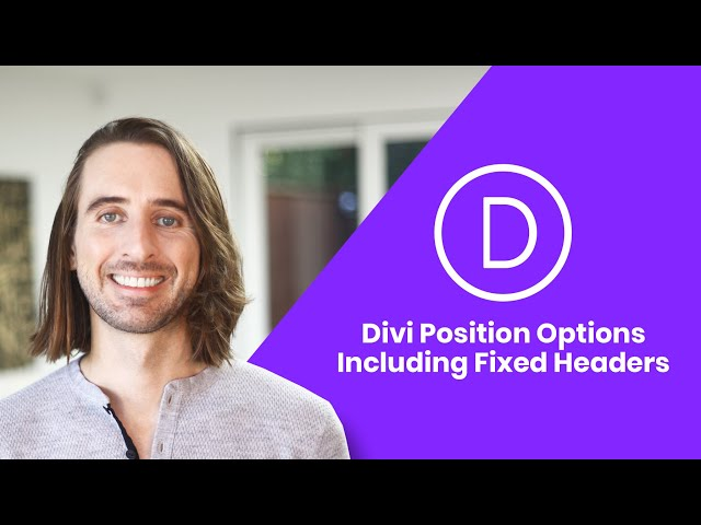 Introducing Position Options For Divi! Including Fixed Headers & Floating Elements