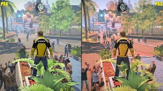 Dead Rising 2 Remaster PS4 Vs PS3 Graphics Comparison