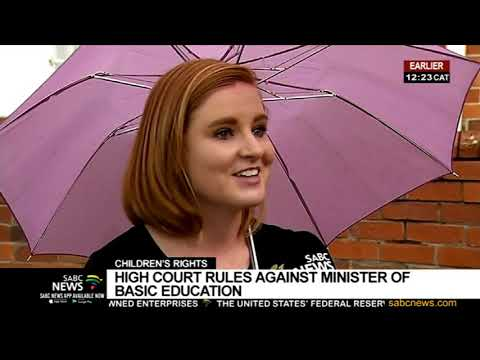 Children's rights | High court rules against Minister of Basic Education