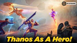 Comic Book Stories where Thanos was a Hero    DK DYNAMIC