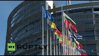 LIVE: Eurogroup reconvenes after 'no' win in Greece: Arrivals