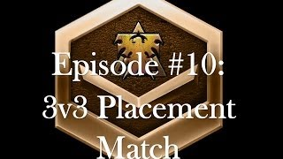 illmadic_W crappy Starcraft - EP 10 3v3 Placement - Bronze League