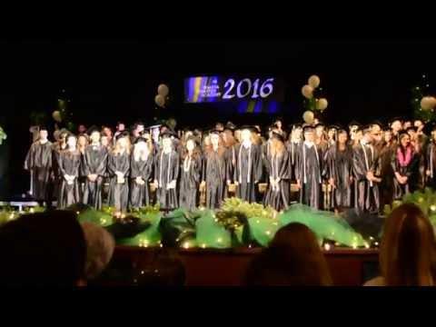 Shasta Charter Academy 2016 Graduation March
