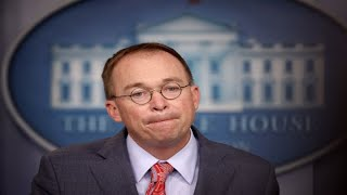 White House's Mick Mulvaney describes Ukraine hold-up as quid pro quo, then walks it back