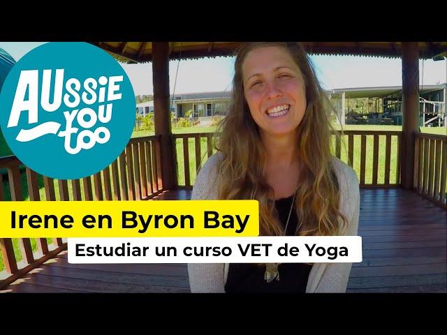 Irene Quintavalle - Estudiar Yoga en Byron Bay