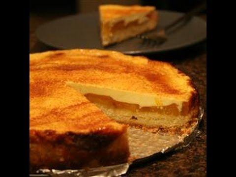 Receta como hacer kuchen de melocoton durazno silvana - Como hacer melocoton en almibar ...