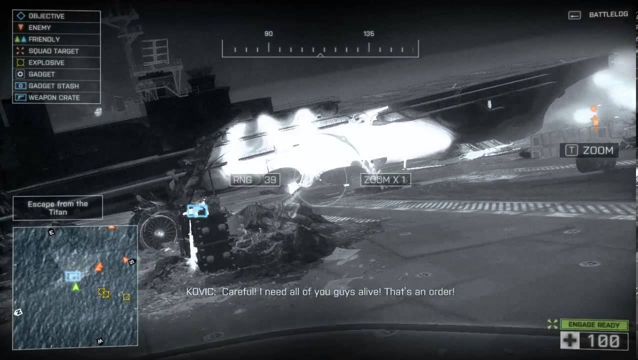 Battlefield 4 Get To The USS Titan YouTube