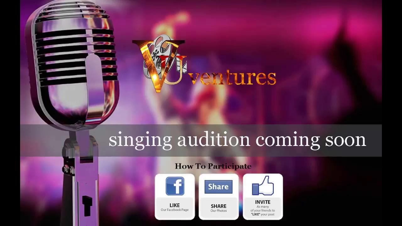 Singing Audition 2018