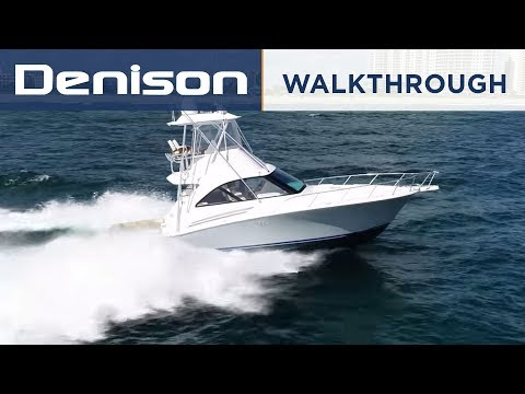 Hatteras 45GTX Sportfish [Walkthrough]