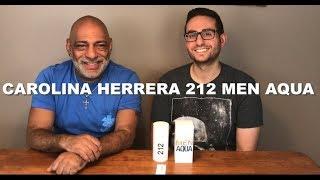 NEW Carolina Herrera 212 Men Aqua Limited Edition First Impressions with Redolessence