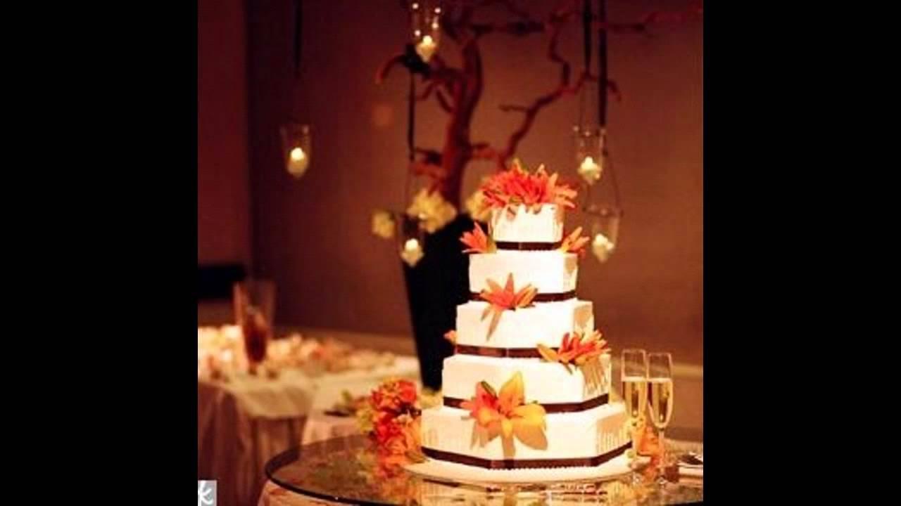 Youtube Wedding Ideas: Fall Wedding Cake Decorating Ideas