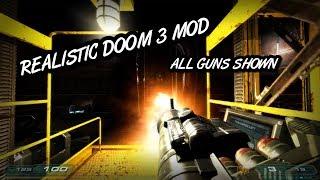 (All Guns Shown) Overthinked Doom 3 Mod
