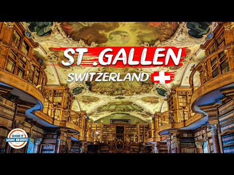 A Tour of St. Gallen Switzerland and the Abbey Library (one of the oldest in the world)