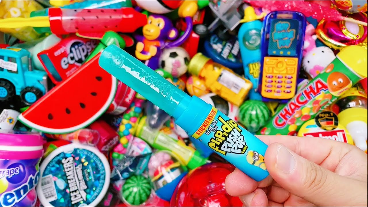 Very Yummy Candy with Fant Flyer, ASMR