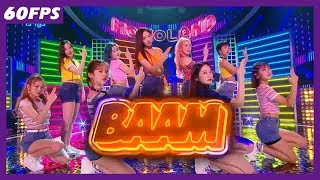 60FPS 1080P | MOMOLAND - BAAM, 모모랜드 - BAAM Show Music Core 20180630