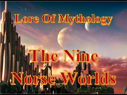 Lore of Mythology: The nine worlds of norse mythology