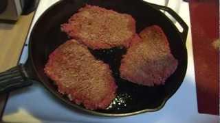 Pan Seared Cube Steaks