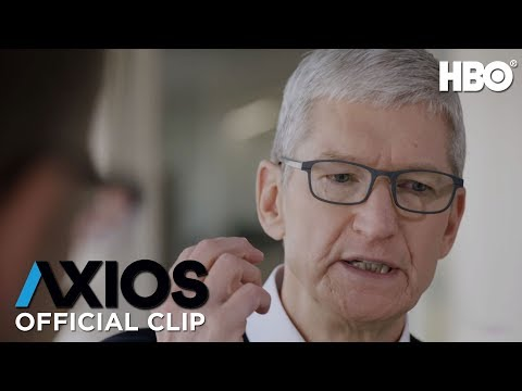 Apple CEO Tim Cook on Whether Technology is Good or Evil | AXIOS on HBO