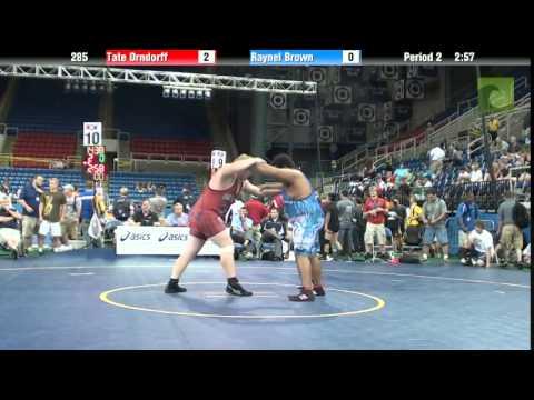 285 Tate Orndorff vs. Raynel Brown