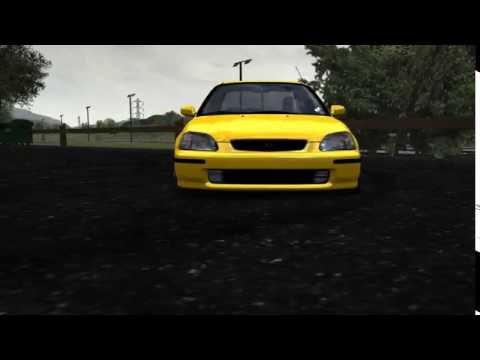 Lfs Honda Vermidon (Sarı) Yaması !! 2 VOB Ve Çalışan HD dds'ler !! Bakmayan Çok Şey Kaçırır