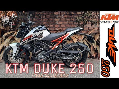 KTM Duke 250 Review | SRI LANKA