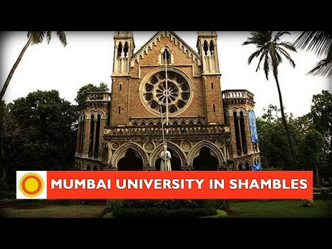Mumbai University in shambles!