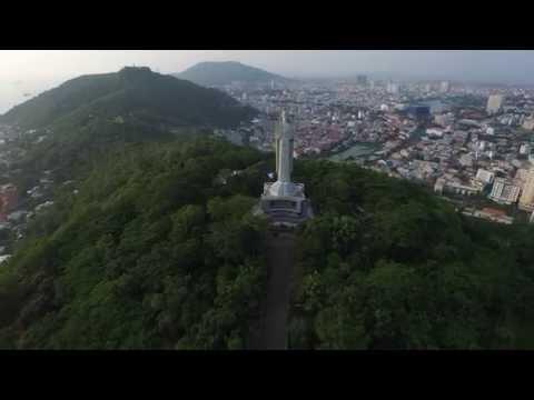 Vung Tau (Vũng Tàu) - Drone View 360°