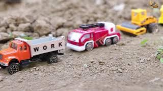 Lost Dinosaur Egg   Construction vehicles toys   Excavator   Dump truck   Car Toys