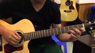 Hướng dẫn guitar Hòn Đá Cô Đơn nhịp 2/4