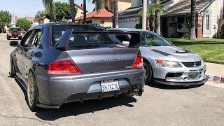 Mitsubishi EVO 9 Gets CARBON FIBER & PERFORMANCE Upgrade !!