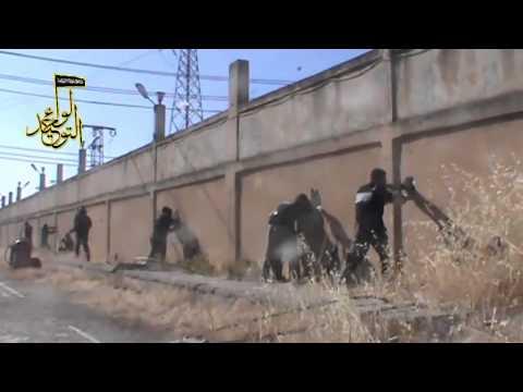 Idlib, heavy clashes between  army & FSA 11 6 2013