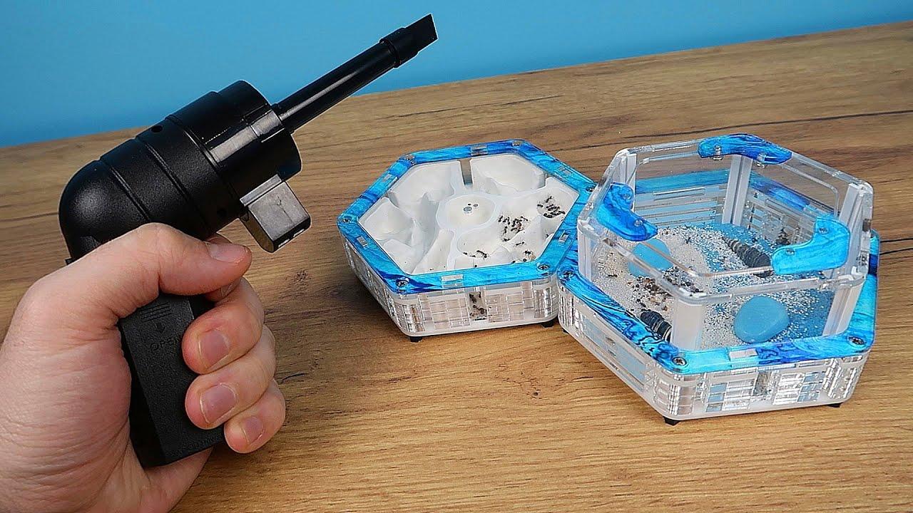 Куда исчезла Матка жнецов в новом фармике? Новый Пистолет Пылесос для муравьев!