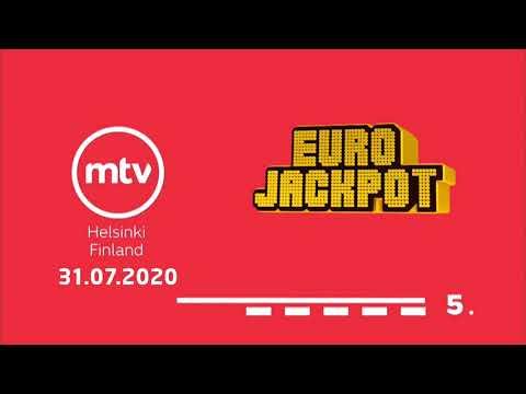 Eurojackpot Trekking 31/07/2020